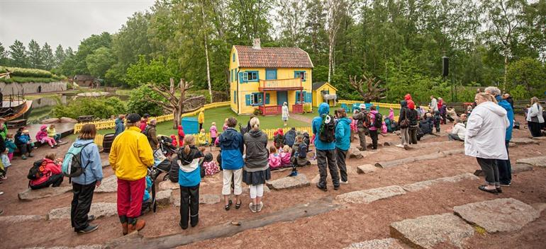 Astrid Lindgren World in Vimmerby, Zweden