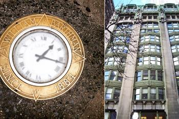 Barthman Clock en New York Evening Post Building