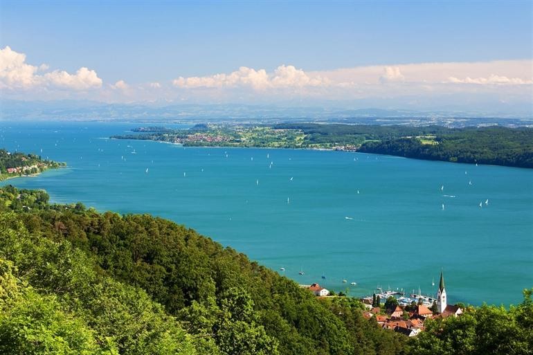 Bodensee in Duitsland