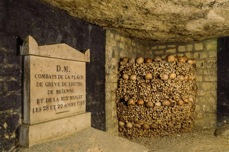 Catacomben in Parijs