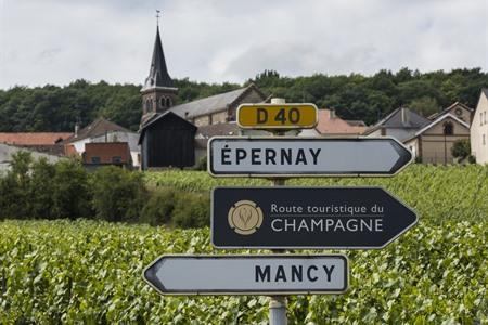 Champagnehuis in Epernay