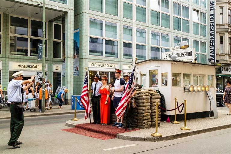 Checkpoint Charlie en museum