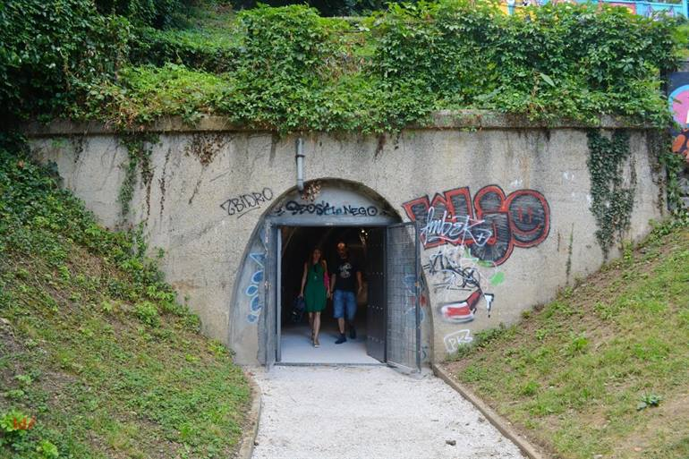 Gric Tunnel Zagreb