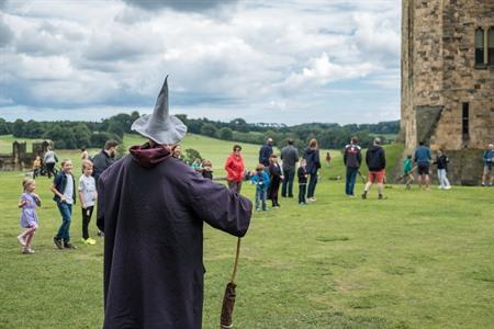 Harry Potter op Alnwick Castle