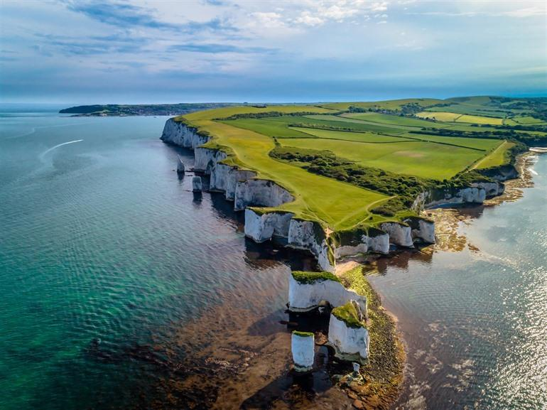 Krijtformaties van Old Harry Rocks