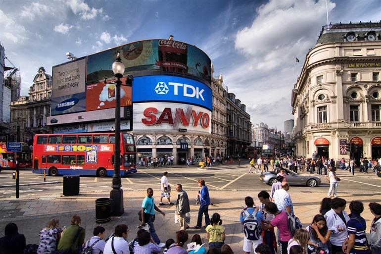 Piccadilly Circus Londen