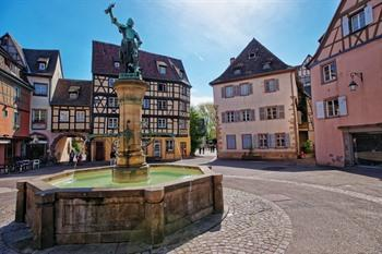 Place de l'Ancienne Douane in Colmar