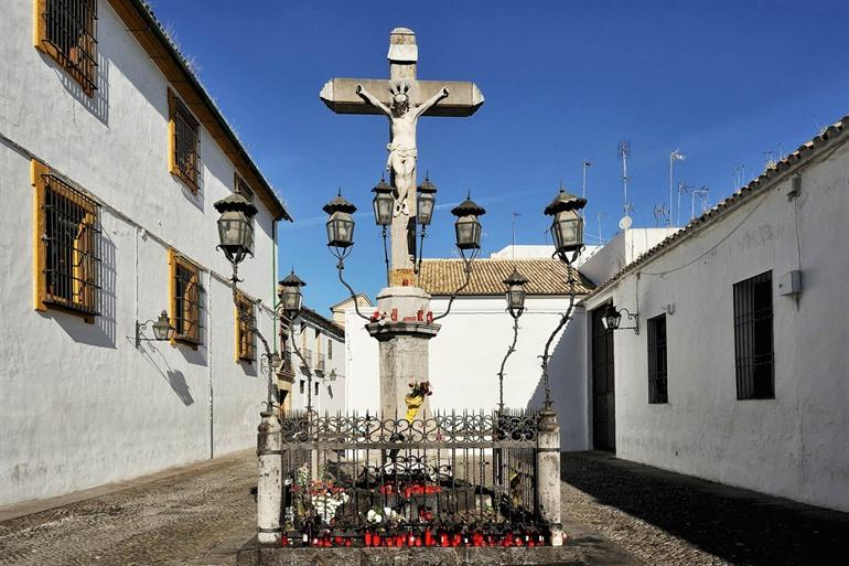 Plaza de los Capuchinos in Cordoba