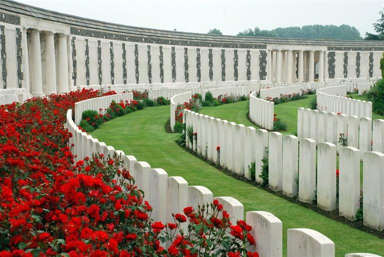 Tyne Cot in Passendaele