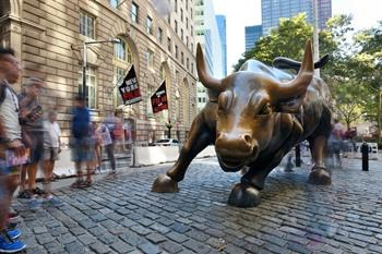 Wall Street Charging Bull Sculpture New York