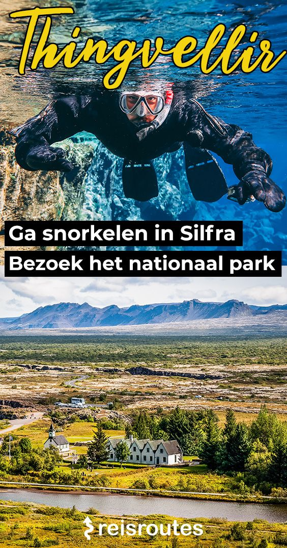 Pinterest Thingvellir National Park bezoeken + snorkelen in de Silfra kloof? Info & tips