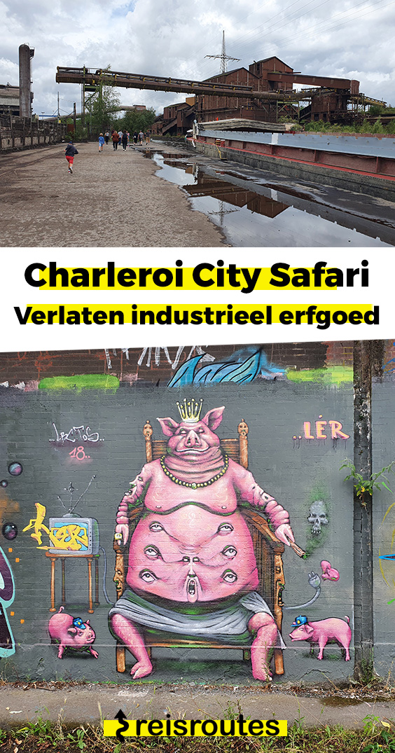 Pinterest Op City Safari in Charleroi: Wandeling langs industrieel erfgoed & vergane glorie
