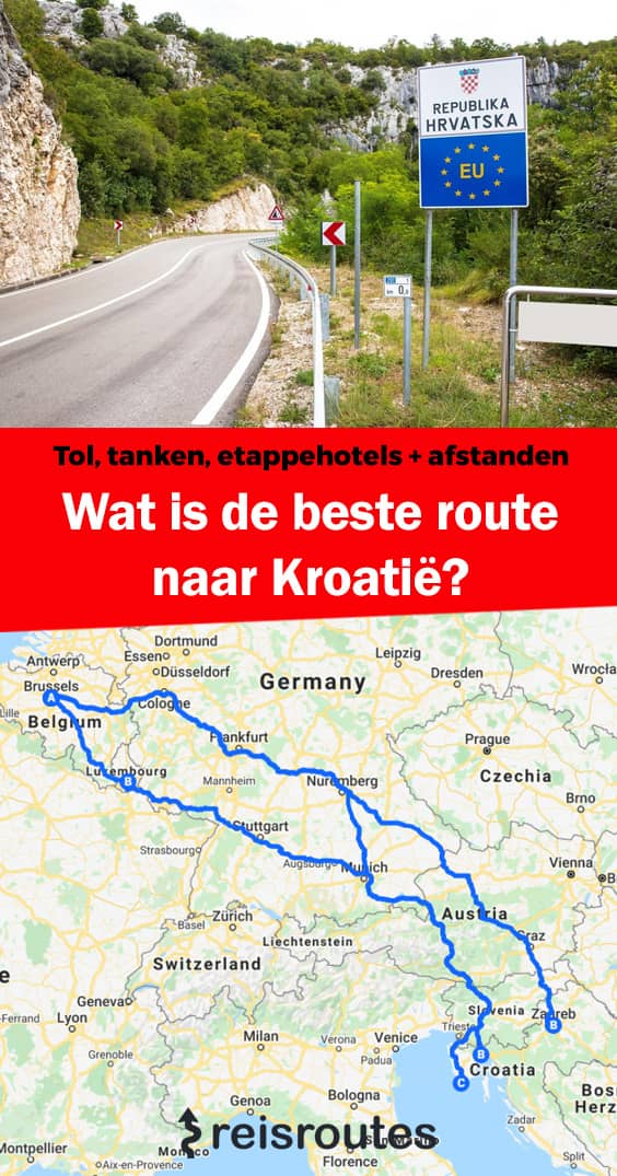 Pinterest Wat is de beste route naar Kroatië? Tol, tanken, etappehotels & tips