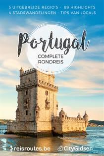 Wandeling Lissabon Route Langs De Bezienswaardigheden Kaart