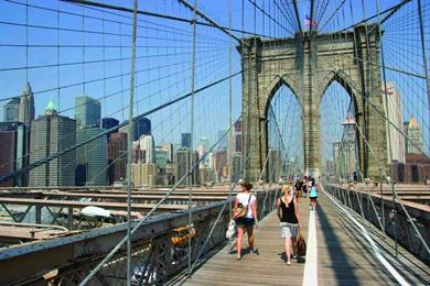 Wandeling Brooklyn, DUMBO, Bushwick en Brooklyn Bridge