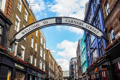 Londen shopping route