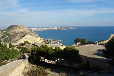 Stadswandeling in Alicante: Highlights + Castillo de Santa Bárbara
