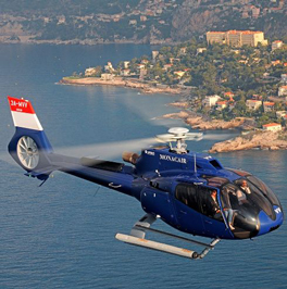 Helikoptertransfer Monaco