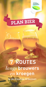 Plan Bier 7 routes in de Vlaamse Ardennen